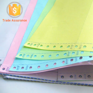 Color Carbonless Paper Stack Form NCR for Super Market Cashier pictures & photos