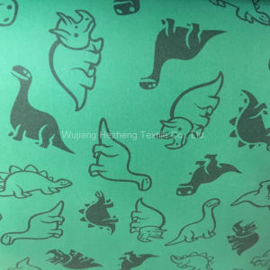 Textile Print PU Coated Knitted Garment Fabric pictures & photos