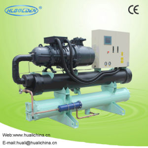 2017 High Performance Screw Water Cooled Water Chiller pictures & photos