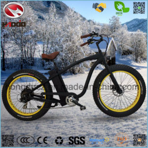 750W Rear Motor Fat Tire Electric Beach Motorcycle pictures & photos