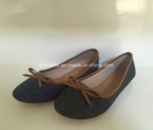 Classical Style Comfort Soft Ballerina Lady Shoes pictures & photos