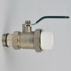PVC Brss Ball Valve with Nickel Plating pictures & photos