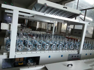 Supply Good Quality HDF Board Decorative Woodworking Wrapping Machine pictures & photos