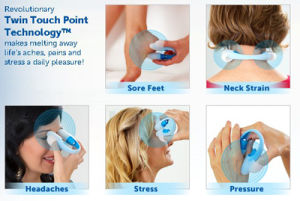 Utouch Massager U Touch Vibrating Twin Touch Point Technology Massager pictures & photos