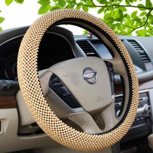 Wood Bead Auto Car Steering Wheel Cover pictures & photos