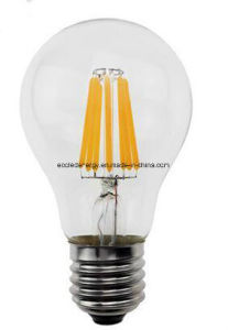 6W E27 Ce and Rhos LED Filament Lamp LED Light pictures & photos