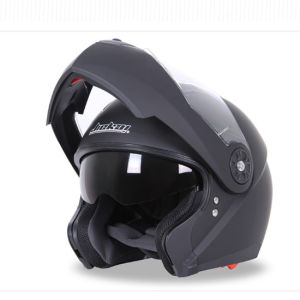 Full Face Motorcycle Helmet with Double Lens