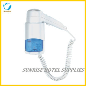 Hotel Wall Mounted Hair Dryer with Hold Button Safety pictures & photos