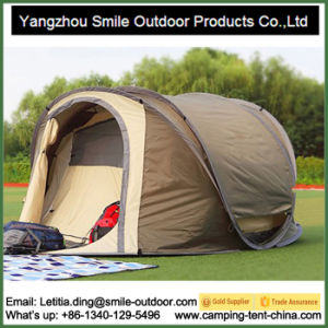 3 Person Doube Layers Butterfly Shape Instant Pop up Tent pictures & photos