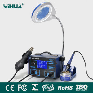 Yihua992D LCD Hot Air Solder Station with Magnifier Lamp pictures & photos