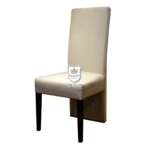 Beige Synthetic Leather Banquet Chair for Restaurant pictures & photos