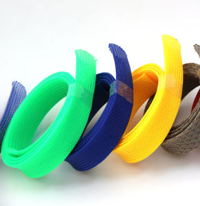 Color Pet Expandable Sleeving with Certification pictures & photos