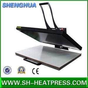 Big Size Manual Heat Press Machine Hot Sale with Ce Apprive 60X80cm 70X100cm 60X100cm pictures & photos