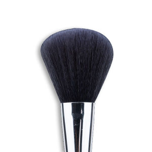 Dreammaker Face Powder Brush with Metallic Handle Synthetic Hair pictures & photos