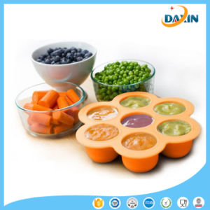 Flower Shape Food Grade Silicone Food Box pictures & photos