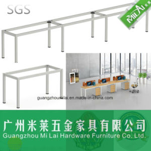 Competitive Price Straight Design Office Furniture Desk with Steel Frame pictures & photos
