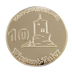 Custom Metal Souvenir Coin for Promotion Gift (MC-021) pictures & photos
