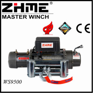 9500lbs 12V 4X4 Electric Winch with Hook pictures & photos