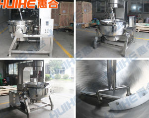 Steam Gas Electrical Jacketed Kettle Cooking Pot pictures & photos