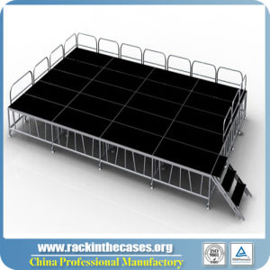 Outdoor Aluminum Exhibition Stage with CE Approved (RK-ASP1X1C) pictures & photos