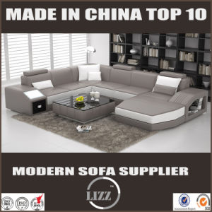 Luxury Modern Leather Sofa for Living Room pictures & photos