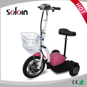 3 Wheel Foldable 350W Mobility Electric Scooter for Disabled (SZE350S-3) pictures & photos