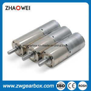 12V, 24V Small DC Spur Gear Motor with Gearbox pictures & photos