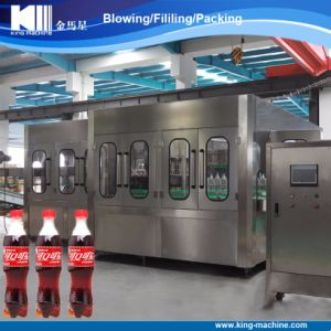Glass Bottle Aluminum Cap Carbonated Drink Filling Machine pictures & photos