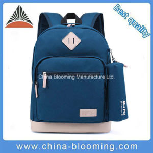High School Student Children Polyester Schoolbag School Backpack pictures & photos