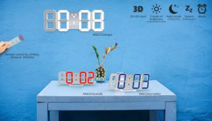 3D Wall Decoration Clock LED with Ce&RoHS pictures & photos