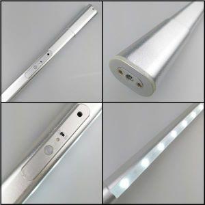 PIR Elastic Battery LED Closet Rod, LED Wardrobe Light