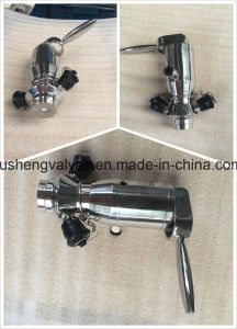 Manually and Pneumatic Operation Aseptic Welding Sampling Valves pictures & photos