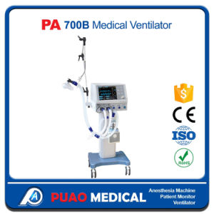 PA-700b New Design Hospital Equipment Ventilator Machine pictures & photos