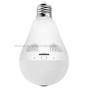 WiFi Panoramic Shot Camera LED Bulb for Security and Protection pictures & photos