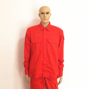 Red Cotton Jacket Fr Petroleum Workwear pictures & photos