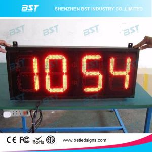 Yellow Color Outdoor Totalizer Digit LED Sign pictures & photos