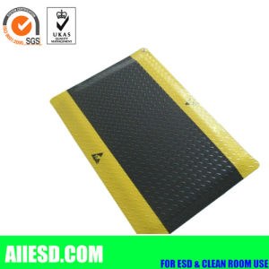 Cleanroom ESD Anti-Fatigue Yellow Black Mat pictures & photos