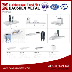 Stainless Steel Towel Ring Wall Towel Rack Rail Commodity Shelf for The Bathroom Fittings Accessories pictures & photos