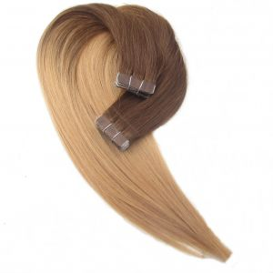 Keratin Hair Tape Human Hair Skin Wefts Tape Hair Extensions