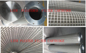 Sintered SUS Net Polyester Pleatered Filter Cartridge