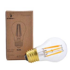 UL Approved LED Filament Bulb A15 6W Clear Glass Light pictures & photos