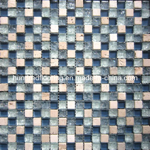 Stone Mix Crystal Glass Mosaic Tile (HGM310) pictures & photos