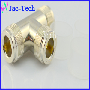 N-Kkk N Tri Female RF Coaxial Connector