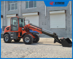 China 1500kg Telescopic Wheel Loader with 0.65m3 Bucket pictures & photos