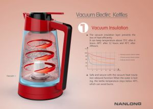 Vacuum Electric Kettle pictures & photos