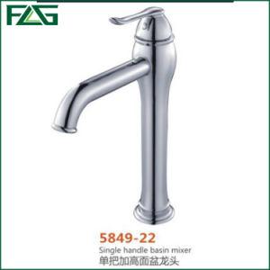 Flg Chrome Single Handle Basin Mixer Faucet Tap pictures & photos