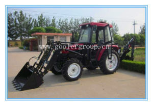 Tractor, Lawn Tractor 55HP, 4x4, DQ554 with 3 Point Hitch Backhoe, Farm Tractor Front End Loaders pictures & photos