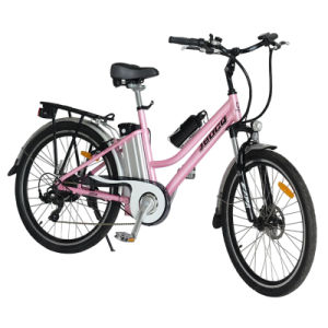 Eco-Friendly 250W Motor & 10ah Lithium Battery City Electric Bicycle (JB-TDF03Z) pictures & photos