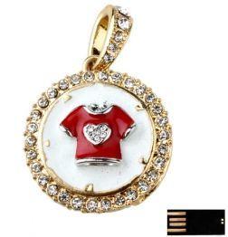Christmas Flower Ring USB Flash Disk