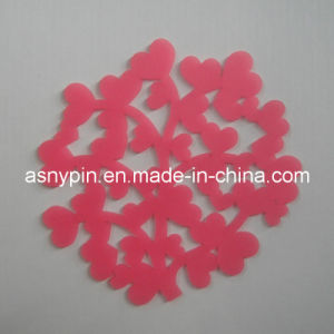 Snowflake Plastic Cup Mat (ASKQ-COS-010) pictures & photos